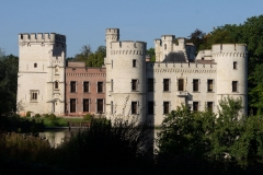 Schloss im botanischen Garten Meise